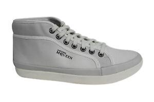 Puma AMQ Rabble Mid bianco lacci sneaker uomo 354833 01 U69