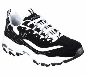 Skechers-Dlites-NERO-SHOES-MEN-039-S-Foam-Sport-Comfort-Memory-Casual-Sneaker-52675