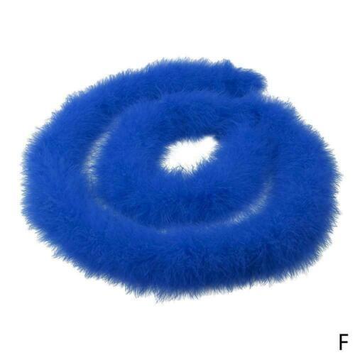 6 Feet 2 Yards Party Scarf Marabou Fluffy Turkey Feather Boa Wedding Pa Q3O S2Q3