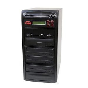 SySTOR 1-3 USB/SD/CF/MS/MMC MultiMedia Backup Copier to CD DVD Duplicator
