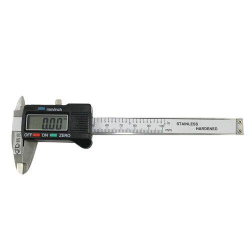 150mm Metal Digital Vernier Caliper LCD Electronic Micrometer Gauge Measurement