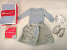 NEW American Girl Frosty Party Outfit My AG Holidays Blue Silver