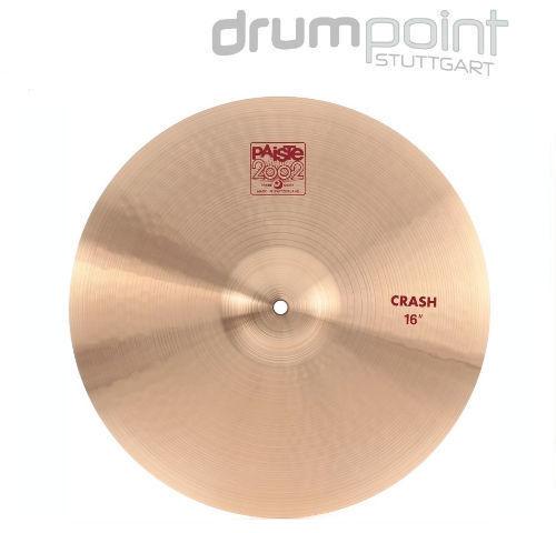 Paiste 2002 16  Crash Cymbal Becken Bronze für Schlagzeug Drums