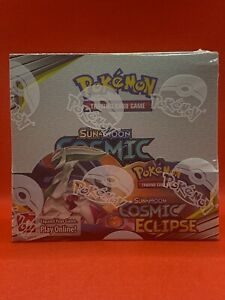 Pokemon Cosmic Eclipse 36 Booster Packs = 1 Booster Box Priority Mail Shipping