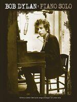 Bob Dylan Piano Solo Sheet Music Piano Solo Book 014041902
