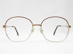 Oversized-Brillengestell-Optiker-Damen-Brille-XL-PANTO-true-vintage-NEU-NOS-80er