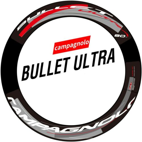 Wheel Sticker for Campagnolo CP Bullet Ultra 50 80 Road Bike Bicycle Cycle Decal