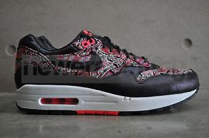 new styles bb2a2 7119b Image is loading Womens-Nike-Air-Max-1-Liberty-QS-Black-