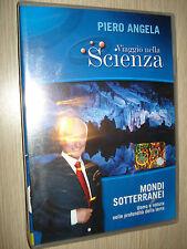 DVD N° 19 VIAGGIO NELLA SCIENZA PIERO ANGELA MONDI SOTTERRANEI UOMO E NATURA