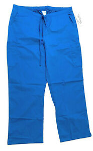 UA-Butter-Soft-Stretch-Scrubs-Women-039-s-Drawstring-Pants-w-Back-Elastic-XL-PETITE
