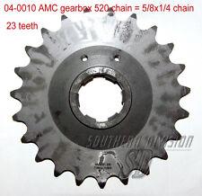 AMC gearbox sprocket 23 teeth Norton Ritzel 520 chain 5/8x1/4 Dominator ES2