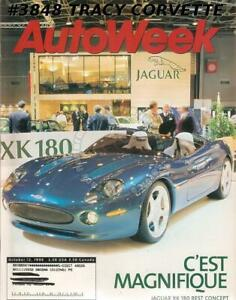 October 12 1998 Autoweek Jaguar XK 180 Concept Alfa Romeo B.A.T.5 Mazda B4000SE | eBay