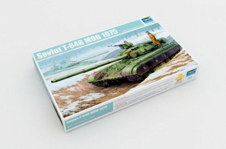 Trumpeter 01581 1 35 Soviet T-64B Mod 1975