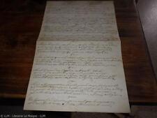 1880.Pardon de Plouaret (manuscrit autographe.Bretagne).Taoc (Pluzunet)