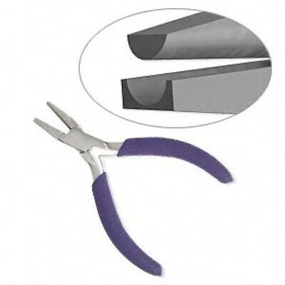1 Half Round Nose /& Curved Forming Foam Grip Pliers