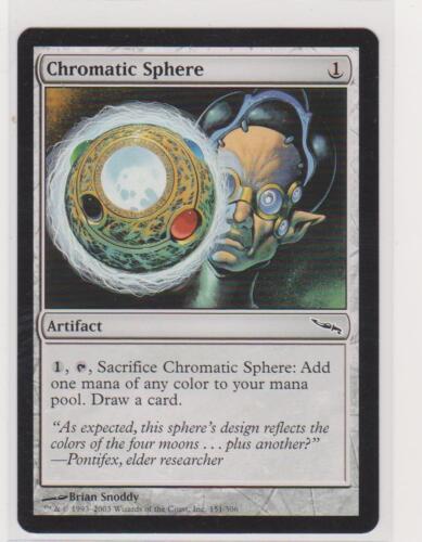 MTG 4x Chromatic Sphere Mirrodin Magic The Gathering NM English Common