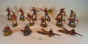 Konvolut 7 alte Indianerzelte für 4cm Merten Figuren Indianer Wildwest