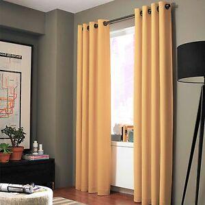 Image Is Loading 2 ADAM Yellow Greek Thermal Sunlight Blocking Blackout