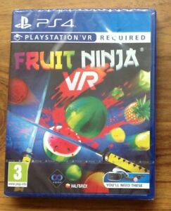 Fruit-Ninja-PS4-VR-Game-PlayStation-PSVR-NEW-Free-UK-Postage
