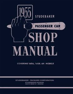Incredible 1955 Studebaker Shop Service Repair Manual Book Engine Drivetrain Wiring Cloud Funidienstapotheekhoekschewaardnl