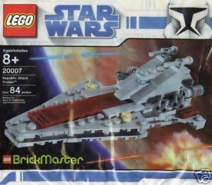 LEGO-Star-Wars-Brickmaster-20007-Republic-Attack-Cruiser-Venator-Class-84-pezzi