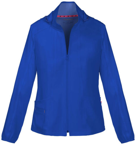 Royal Blue HeartSoul Scrubs Zip Front Warmup Jacket 20310 ROYH