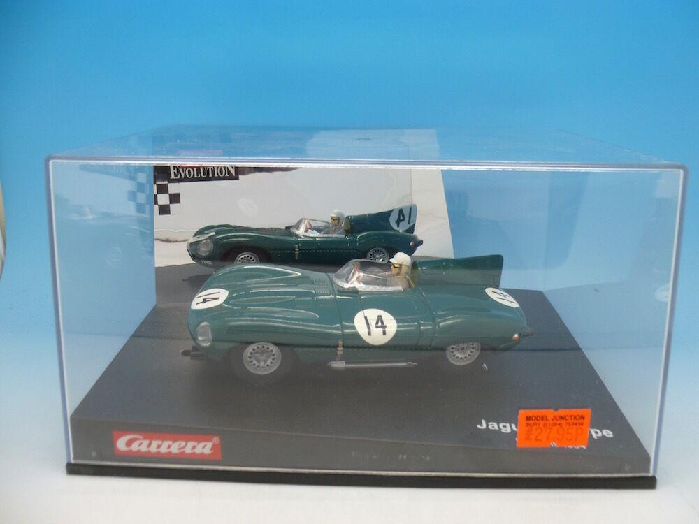 Carrera Evolution Jaguar D-Type Le Mans 54, mint boxed