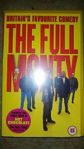 The Full Monty   VHS VIDEO  Robert Carlyle Tom Wilkinson - Nottingham, United Kingdom - The Full Monty   VHS VIDEO  Robert Carlyle Tom Wilkinson - Nottingham, United Kingdom