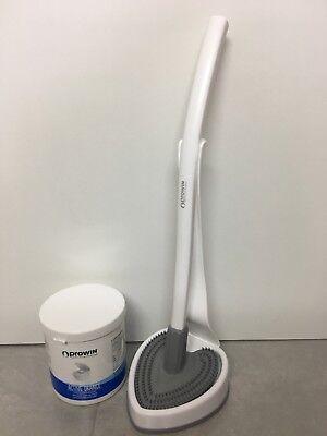 Effizient Prowin Toilettenbürste Wc-cleaner Herzilein Weiss/grau & Active Orange 1 Kg Warm Und Winddicht