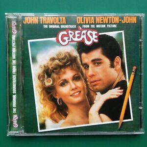 GREASE-CD-Travolta-Olivia-Newton-John-Remastered-Anniversary-Film-Soundtrack-OST