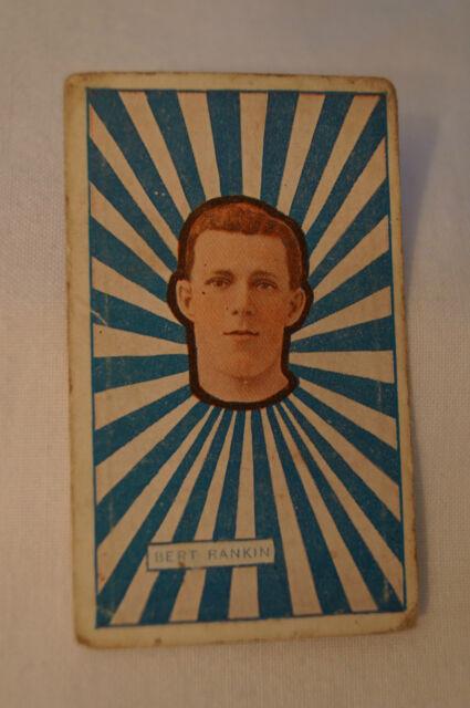 Geelong - 1921 - J.J Schuh Tobacco Vintage Cigarette Card - Bert Rankin.
