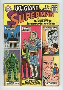 *SUPERMAN 80-pg GIANT 11 (VF-) SUPERMAN-LUTHOR DUELS (FREE SHIPPING w/BIN)*