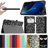 For Samsung Galaxy Tab A 10.1/ 9.7/ 8.0 / 7.0 Folio Pu Leather Case Stand Cover