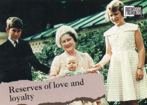 British Royal Family    Individual Trading Cards