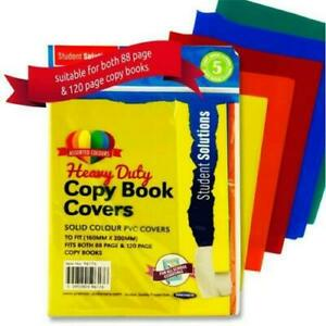 A4-A5-Book-Covers-Heavy-Duty-PVC-Colour-Clear-Copy-Book-Slip-on-Cover-and-wraps