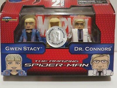 Connors Marvel Minimates TRU Amazing Spider-Man Movie Gwen Stacy /& Dr