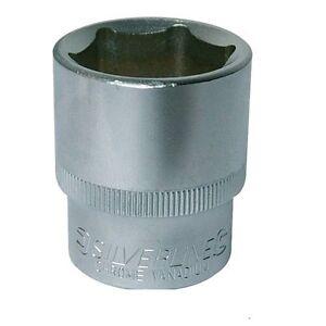 Silverline-Metric-Hex-Socket-1-2-039-039-Square-Drive-LIFETIME-GUARANTEE-10mm