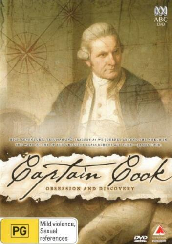 1 of 1 - Captain Cook: Obsession and Discovery  - DVD - NEW Region 4