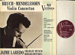 VIC-1033-LAREDO-MUNCH-MITCHELL-bruch-mendelssohn-violin-concerto-LP-PS-EX-EX