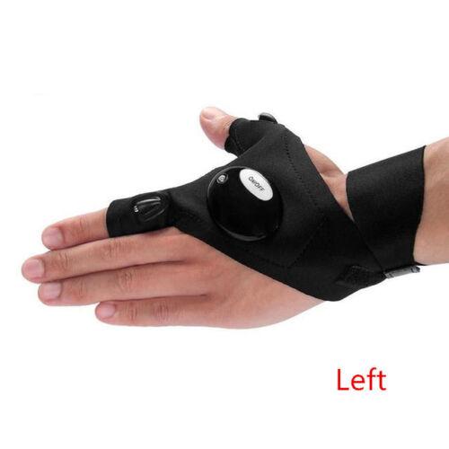 LED Light Gloves Finger Auto Repair Received Outdoors Lighting Gloves Artifact