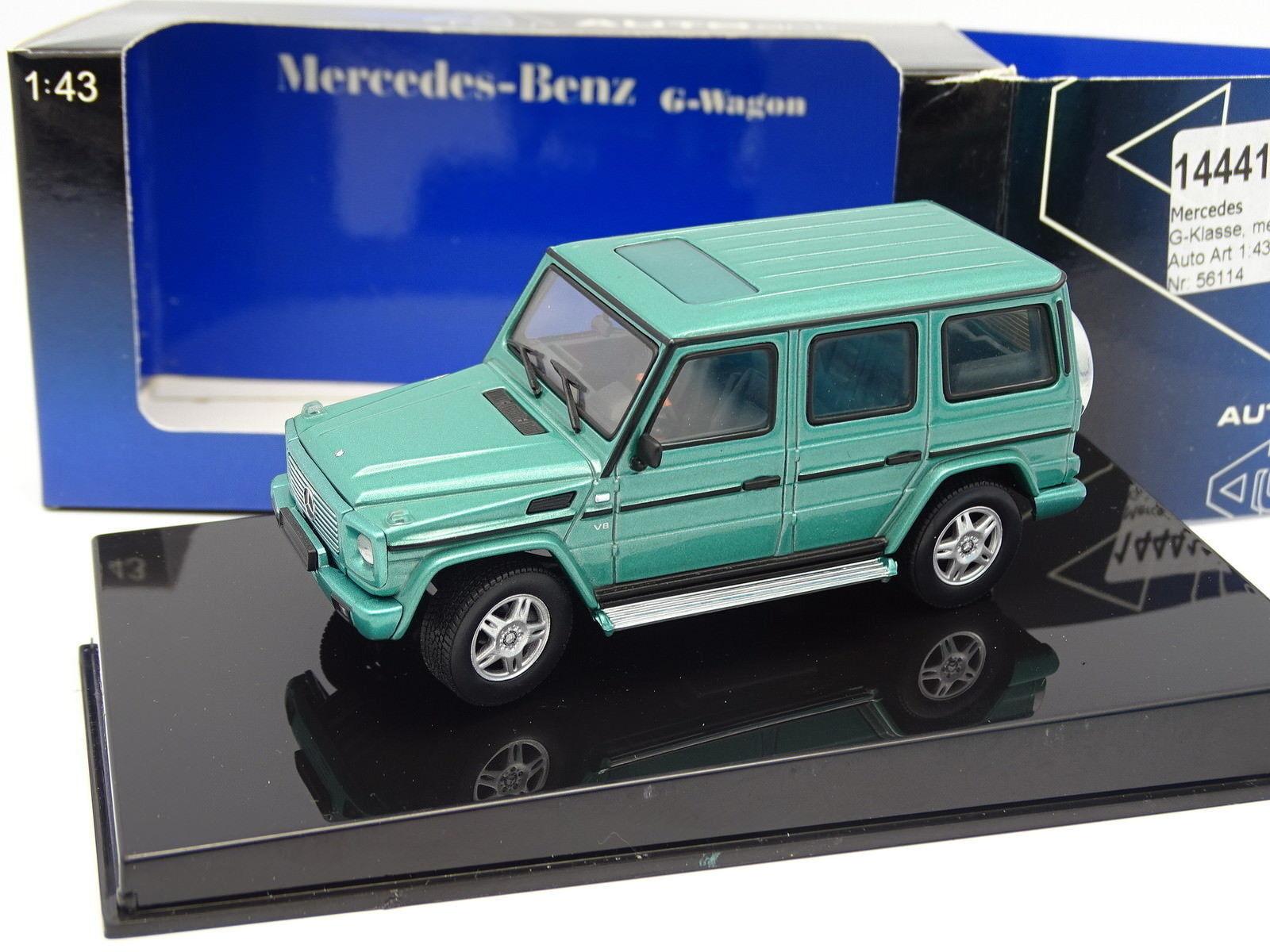 Auto Art 1 43 - Mercedes Classroom G 500 Green