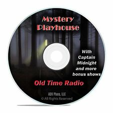Mystery Playhouse, 920 Old Time Radio Show Horror Broadcasts OTR DVD F98