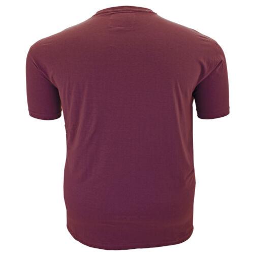 Mens Metaphor Big Plus King Size Crew Neck Graphic USA Print T Shirt 6XL 7XL 8XL