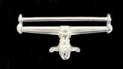 WW1 BRITISH WAR MEDAL SUSPENDER BAR SOLID SILVER FULL SIZE