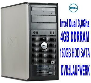 PC-Computer-GAMER-Rechner-PC-Intel-Dual-2x3-00Ghz-6000-Ghz-4000MB-4GB-DELL-Nr31