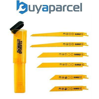 Set of 6 Pieces One Size DeWalt DT2444-QZ Reciprocating Blades Multi