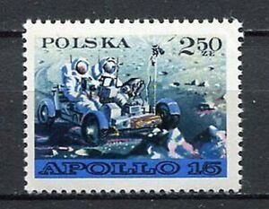 35824) Poland 1971 MNH Moon Car 1v