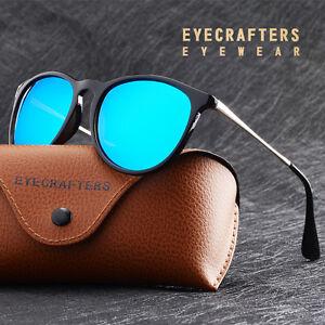 Fashion-Retro-Womens-Polarized-Sunglasses-Oval-Vintage-Mirrored-Shades-Eyewear