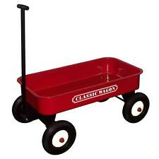 Gran Gizmos CHILDS / Kids tire a lo largo Retro Acero Carrito / Carro / Remolque-Rojo