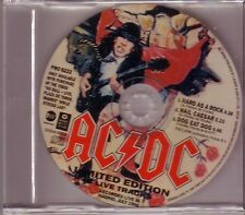 "AC/DC ""Hard As A Rock - Limited Edition Live Tracks"" Rare 3 Track PROMO CD RARE"